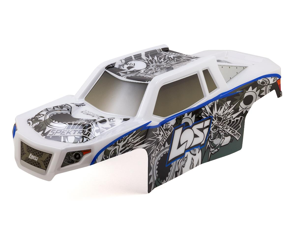 Losi LST 3XL-E Pre-Painted Body Set (White/Black)
