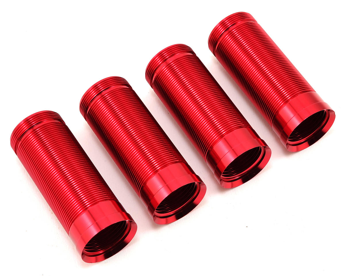 Losi Shock Body Set (Red) (4)