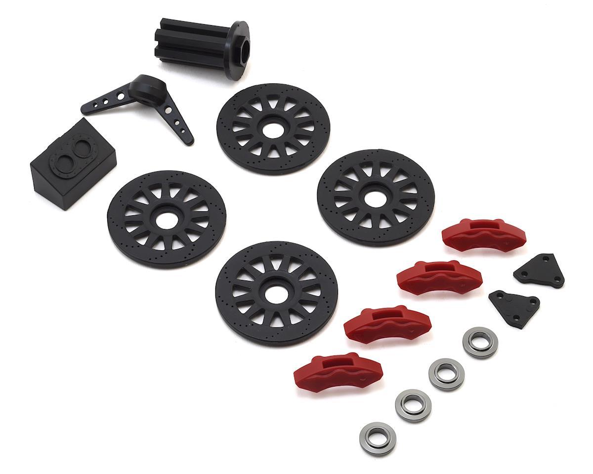 Super Baja Rey Brake & Spare Tire Accessory Set by Losi