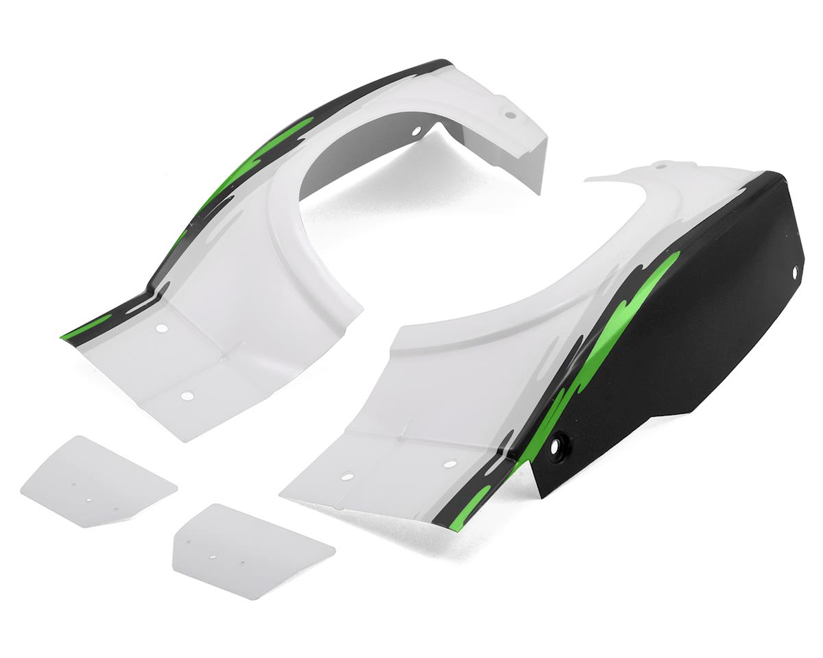 Losi Super Baja Rey Rear Fender Set (Black)