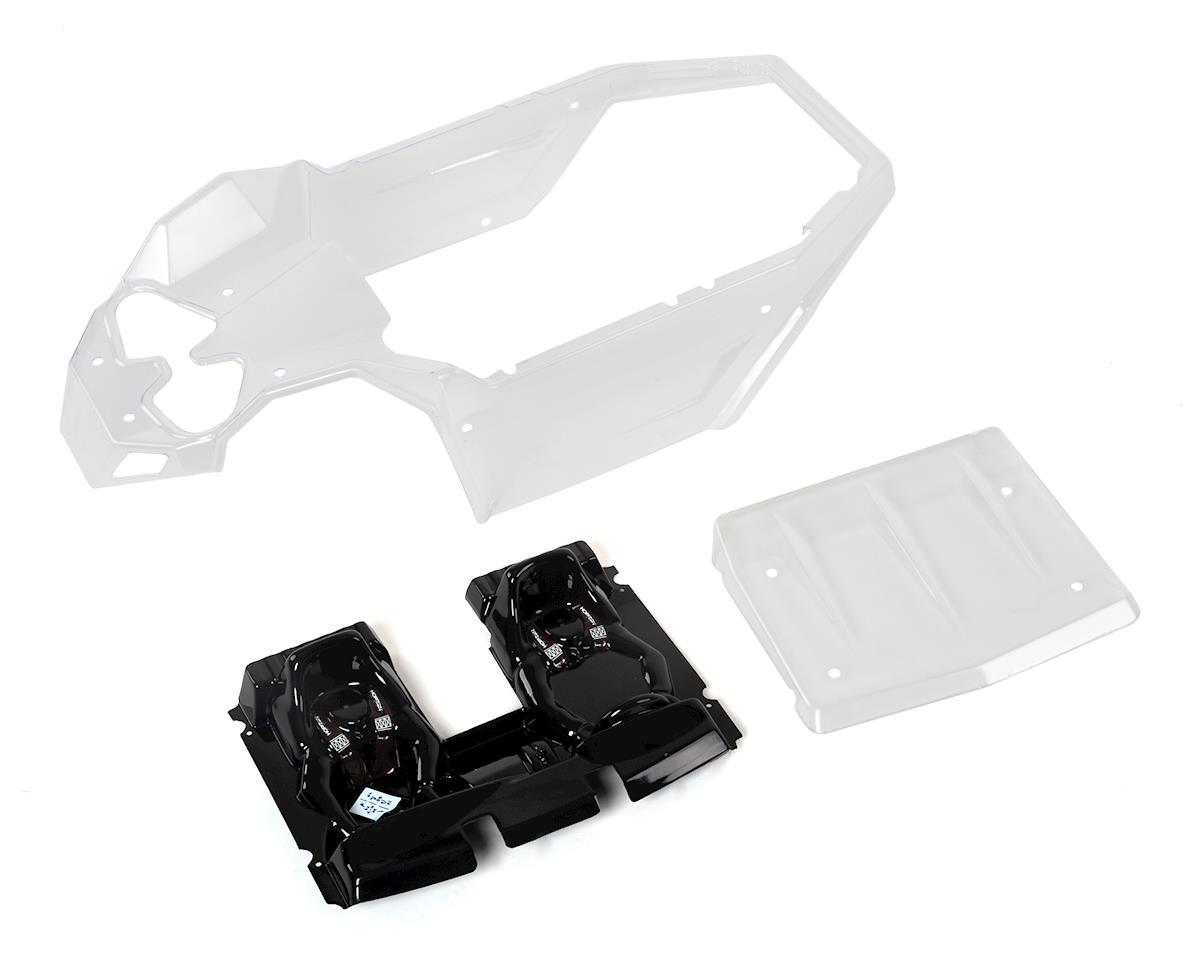 Losi Super Rock Rey 1/6 Rock Racer Body Set w/Interior (Clear)