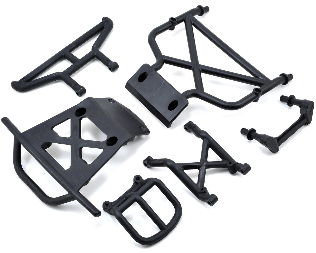 Desert Buggy XL Front/Rear Bumper & Brace Set by Losi