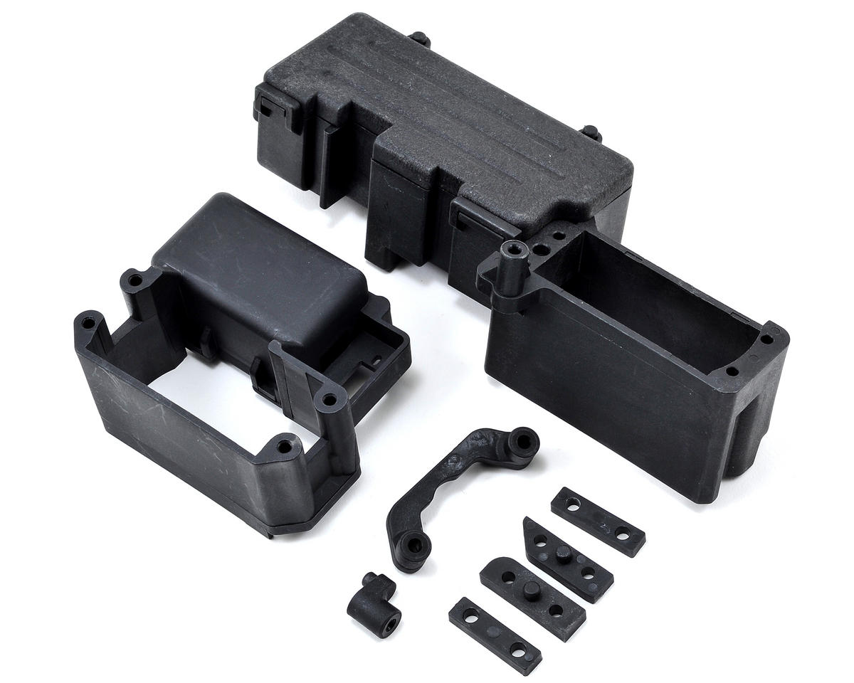 Desert Buggy XL Radio Tray & Gas Tank Mount Set by Losi