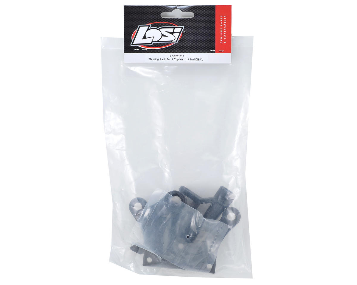 Steering Rack Set & Toplate by Losi