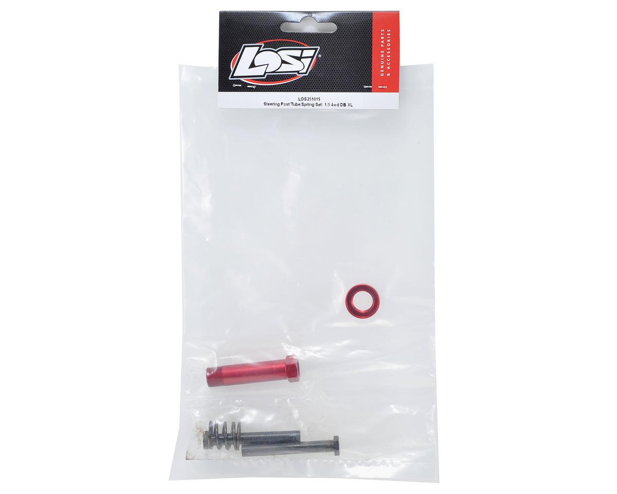 Losi Desert Buggy XL Steering Post, Tube & Spring Set