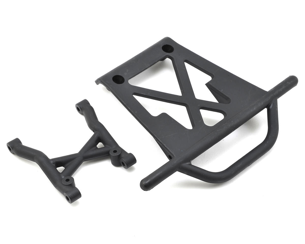 Losi Rear Bumper & Skid Plate Set