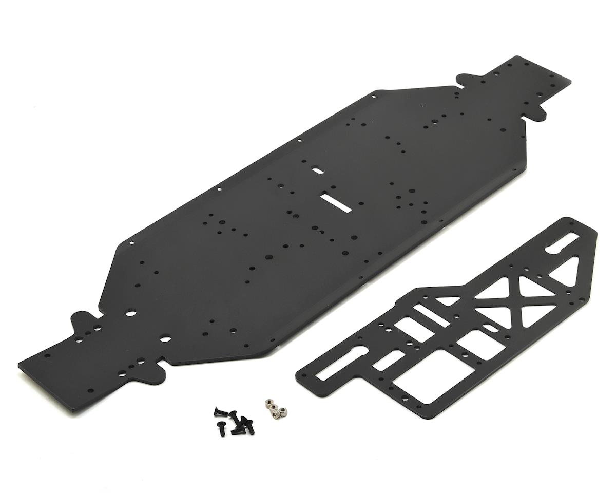 Losi 4mm Desert Buggy XL-E Chassis w/Brace Plate (Black)