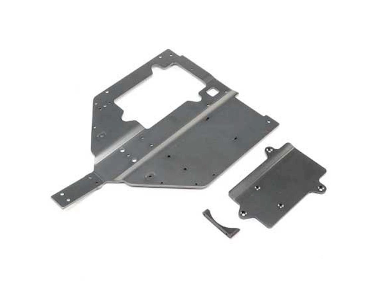 Losi Chassis & Motor Cover Plate: Super Baja Rey