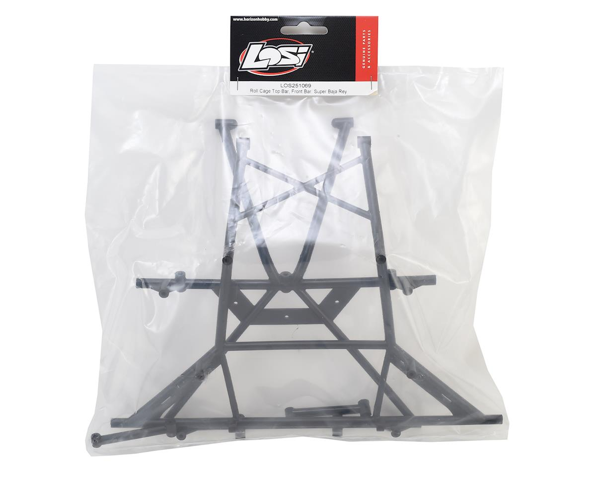Losi Super Baja Rey Roll Cage Top Bar Set