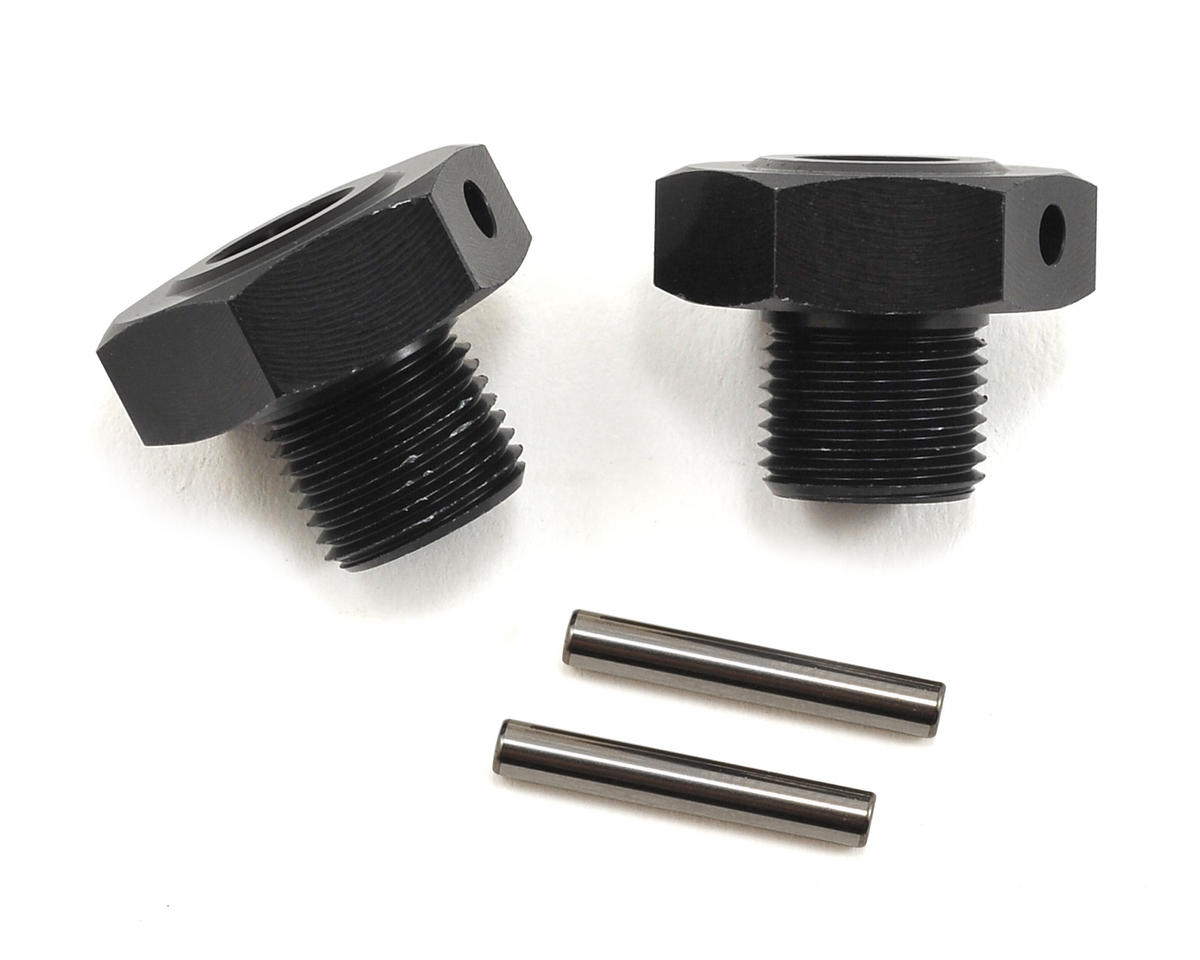 Losi Wheel Adapter Hex w/Pin (2)