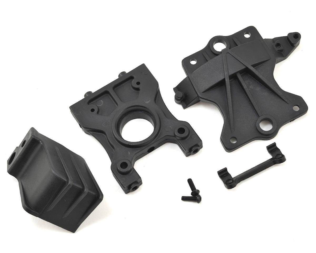 Losi Desert Buggy XL-E Center Differential Standoff/Top Plate & Gear Cover Set