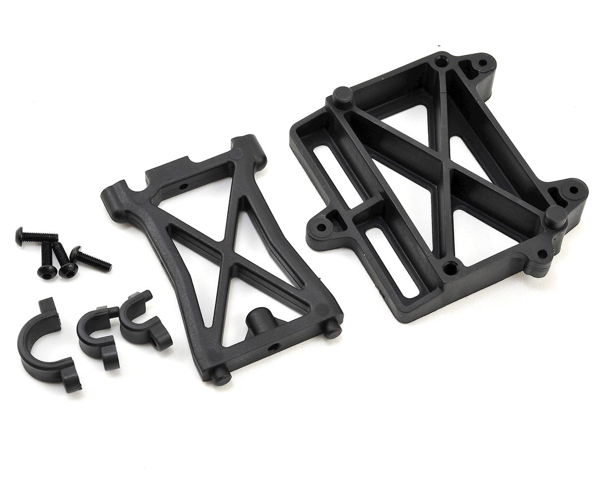 Losi Desert Buggy XL-E ESC Mount Plate Standoff & Clamp Set