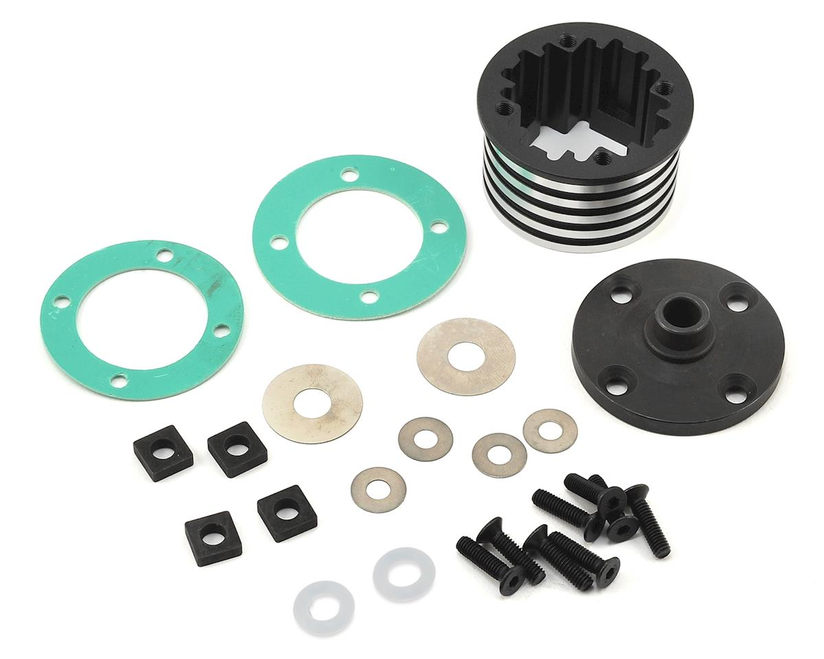Losi Aluminum Desert Buggy XL-E Center Differential Housing Set