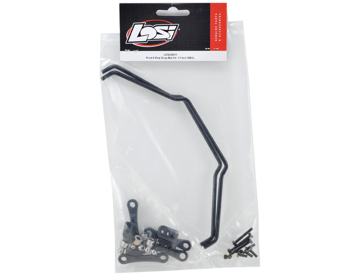 Desert Buggy XL Front & Rear Sway Bar Kit by Losi