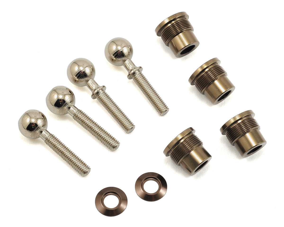 Losi Audi R8 LMS Suspension & Spindle Pivot Ball (4)