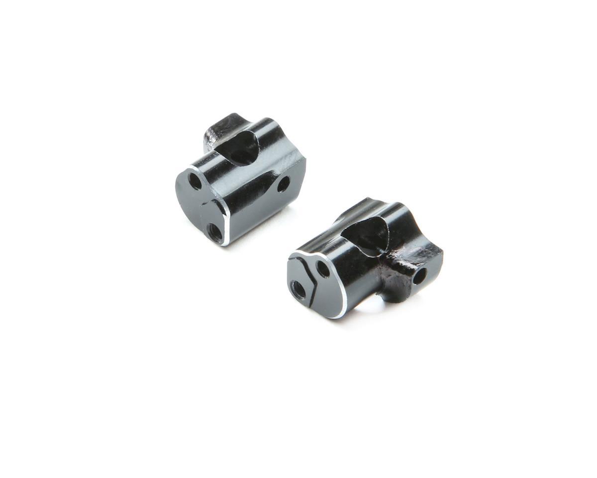 Losi Mini-T 2.0 Aluminum Caster Block (Black)
