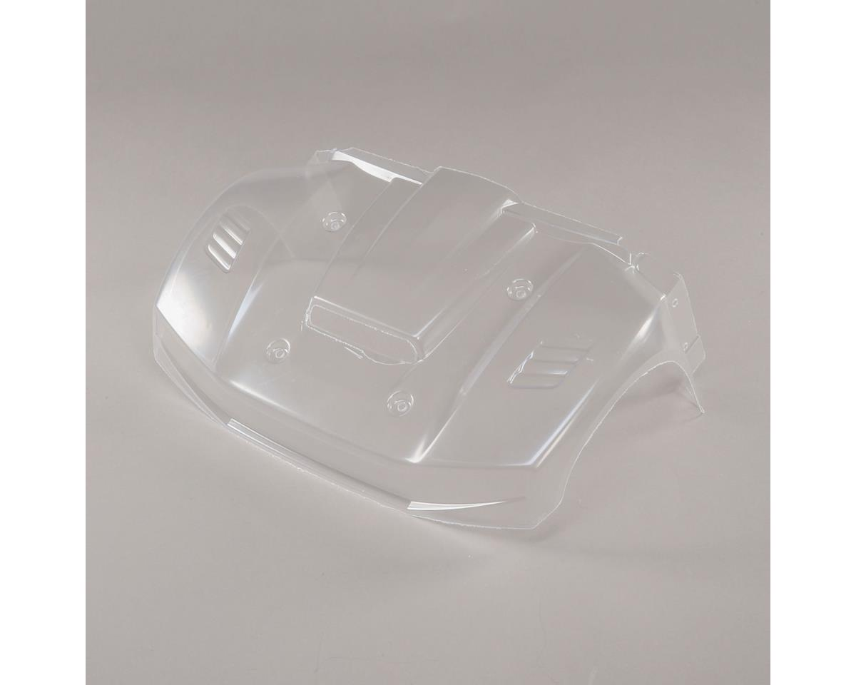 Front Hood section, Clear: 5ive-T 2.0