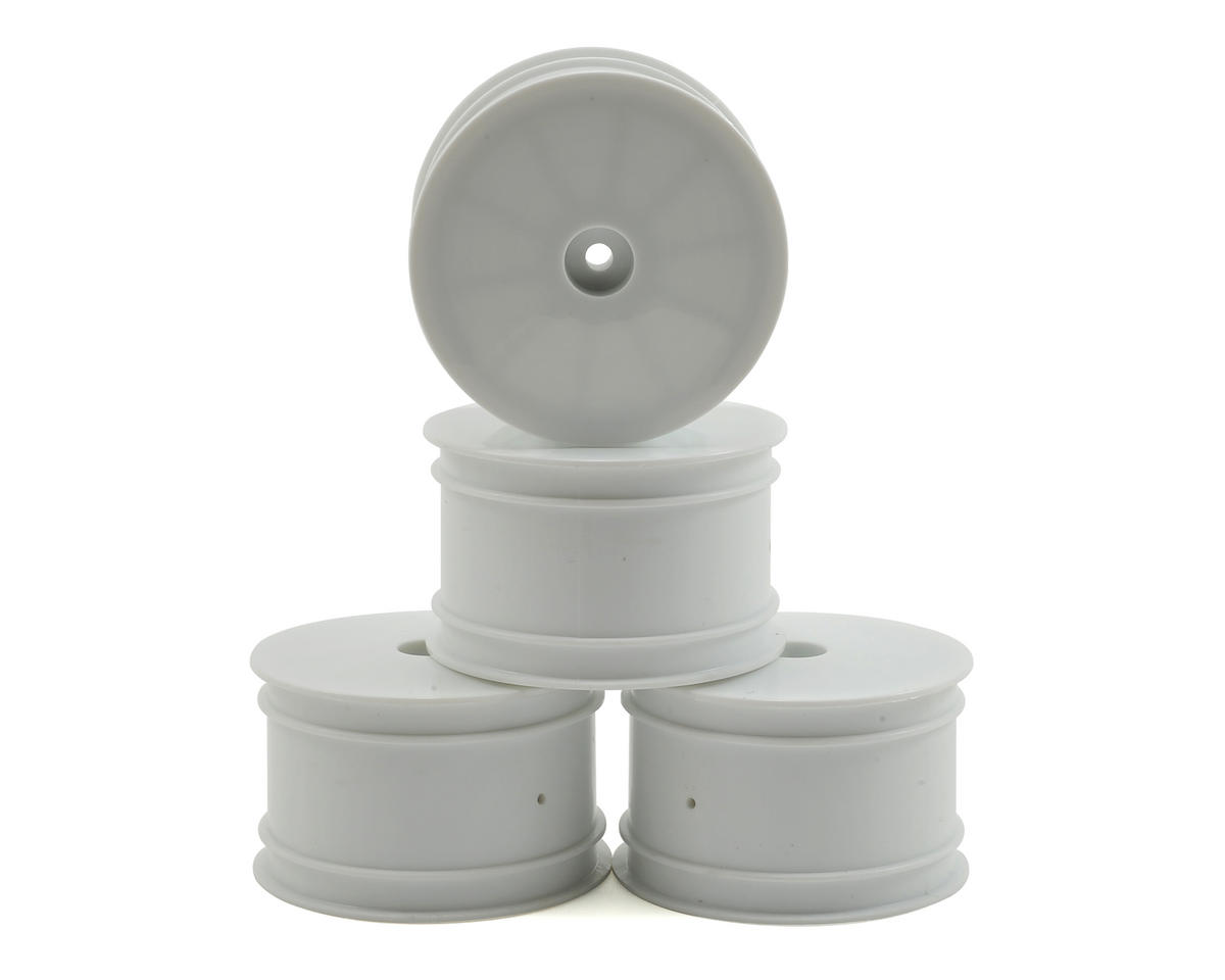 Losi Mini 8ight-T Front/Rear Wheel Set (4) (White)