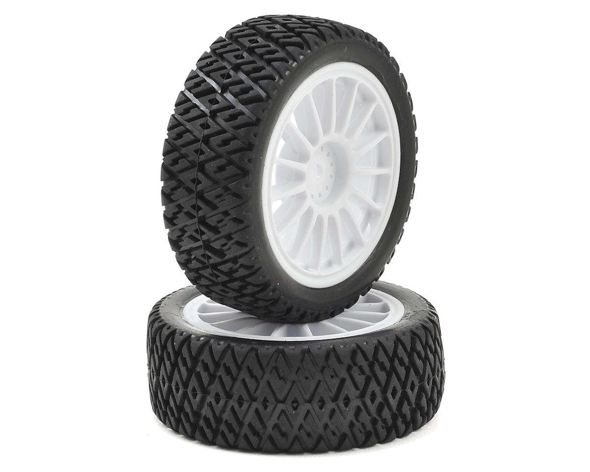 Losi Mini Rally Pre-Mounted Gravel Spec Tire (2)