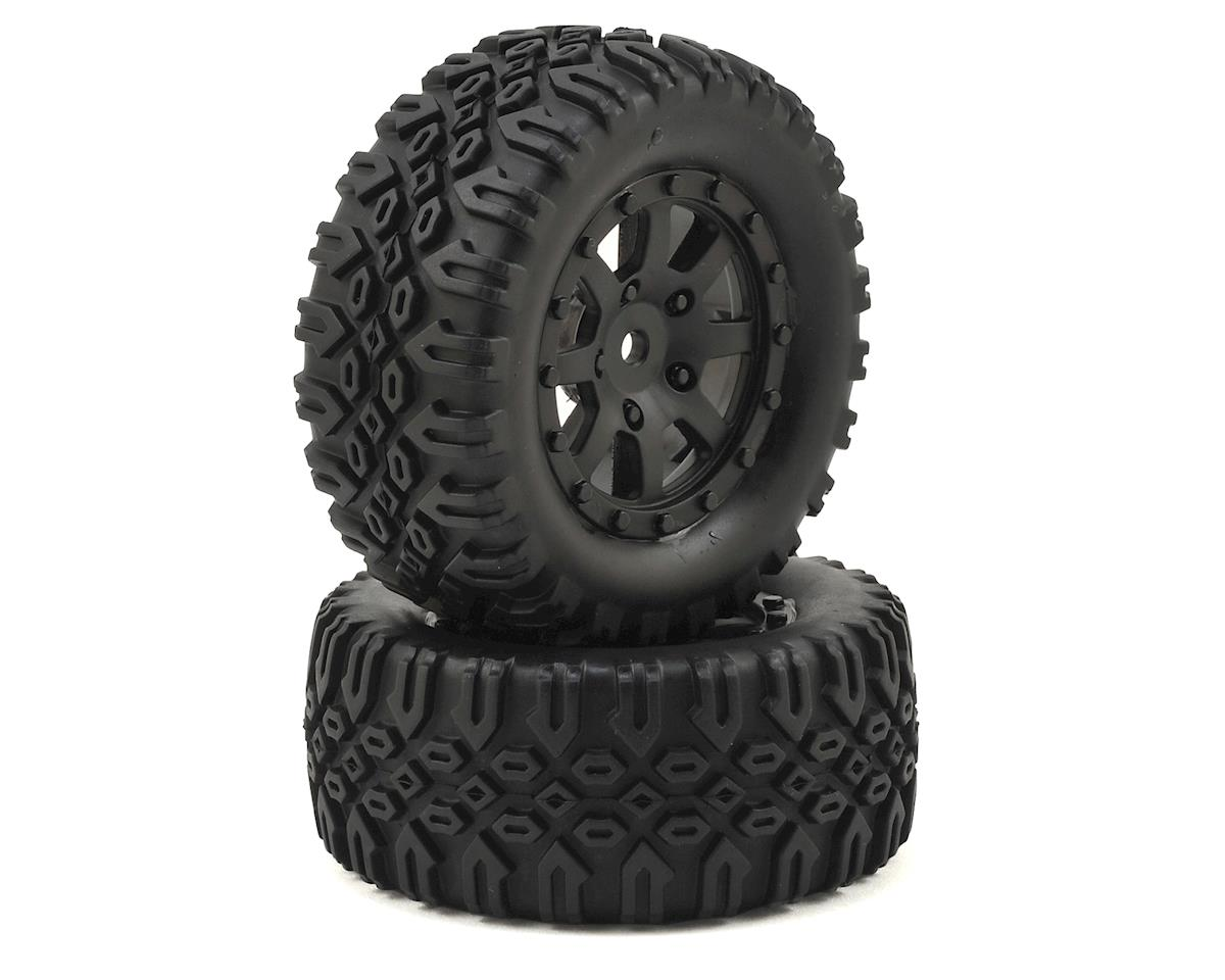 Losi Mini 8IGHT-DB Pre-Mounted Tires (2)
