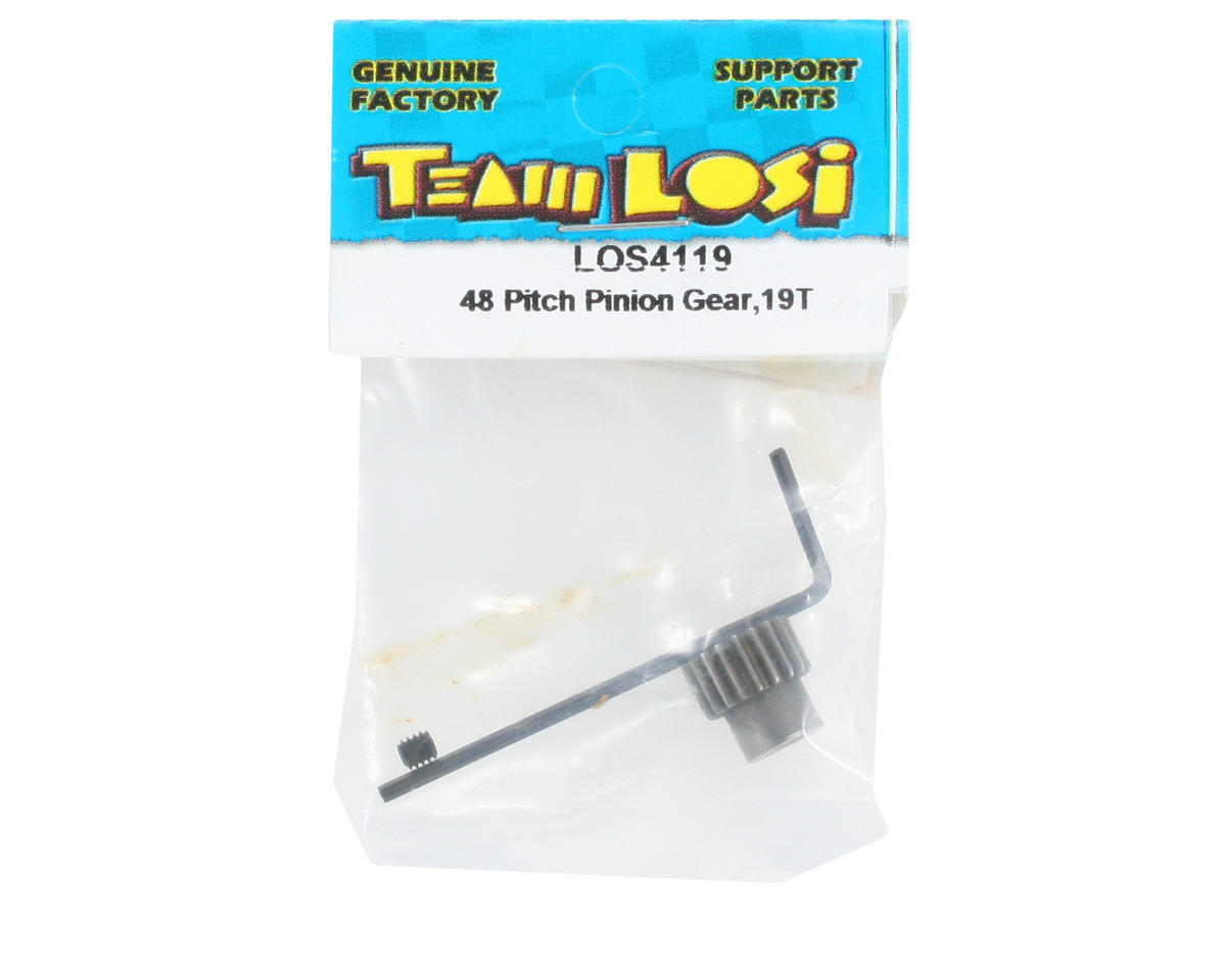 Losi 48P Pinion Gear (3.17mm Bore) (19T)