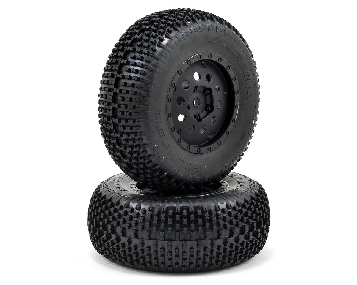Pre-Mounted Rear Eclipse Tire (2) by Losi