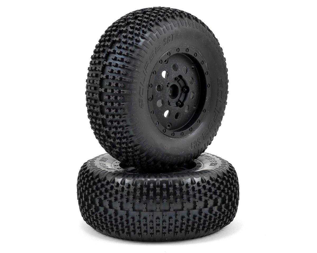 Losi Pre-Mounted Front Eclipse Tire (Black) (2)
