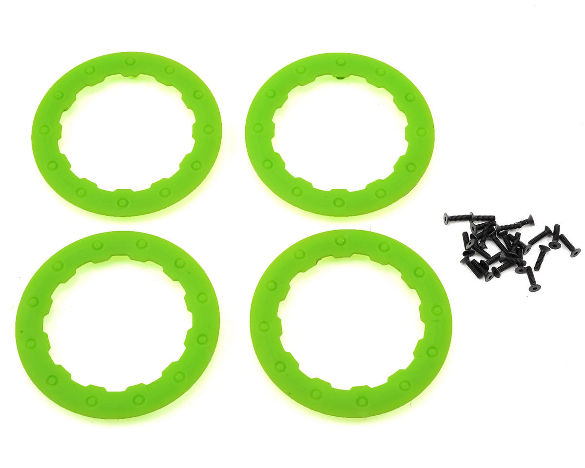Losi TEN-SCBE Beadlock Ring (Green) (4)