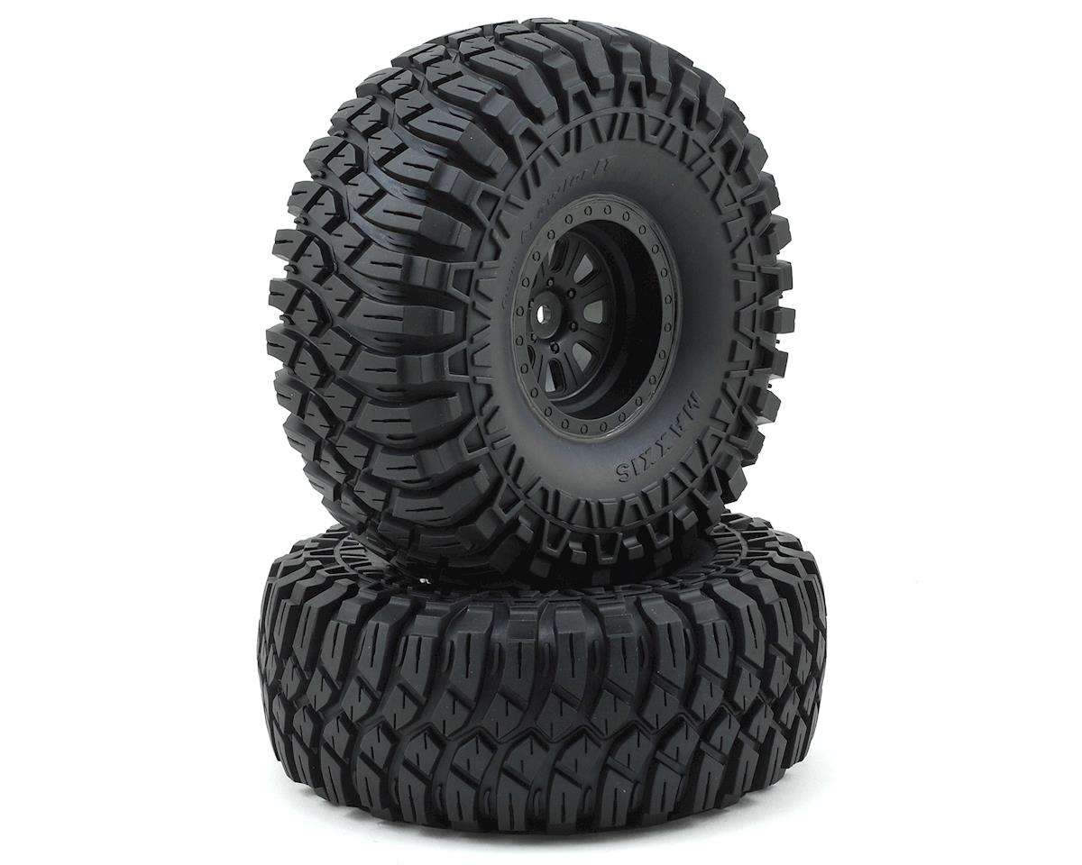 "Losi Rock Rey Maxxis Creepy Crawler LT 2.2"" Pre-Mounted Tire & Wheel"