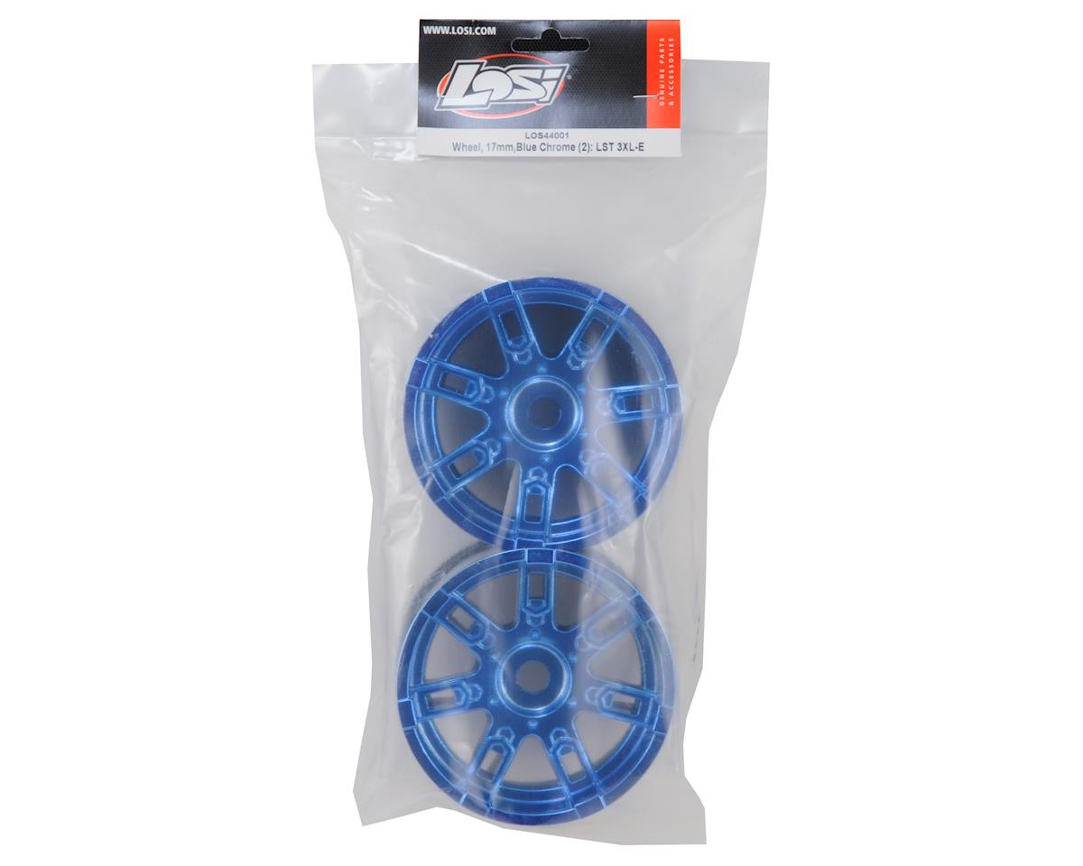 Losi LST 3XL-E 17mm LST 3XL-E (Blue Chrome) (2)