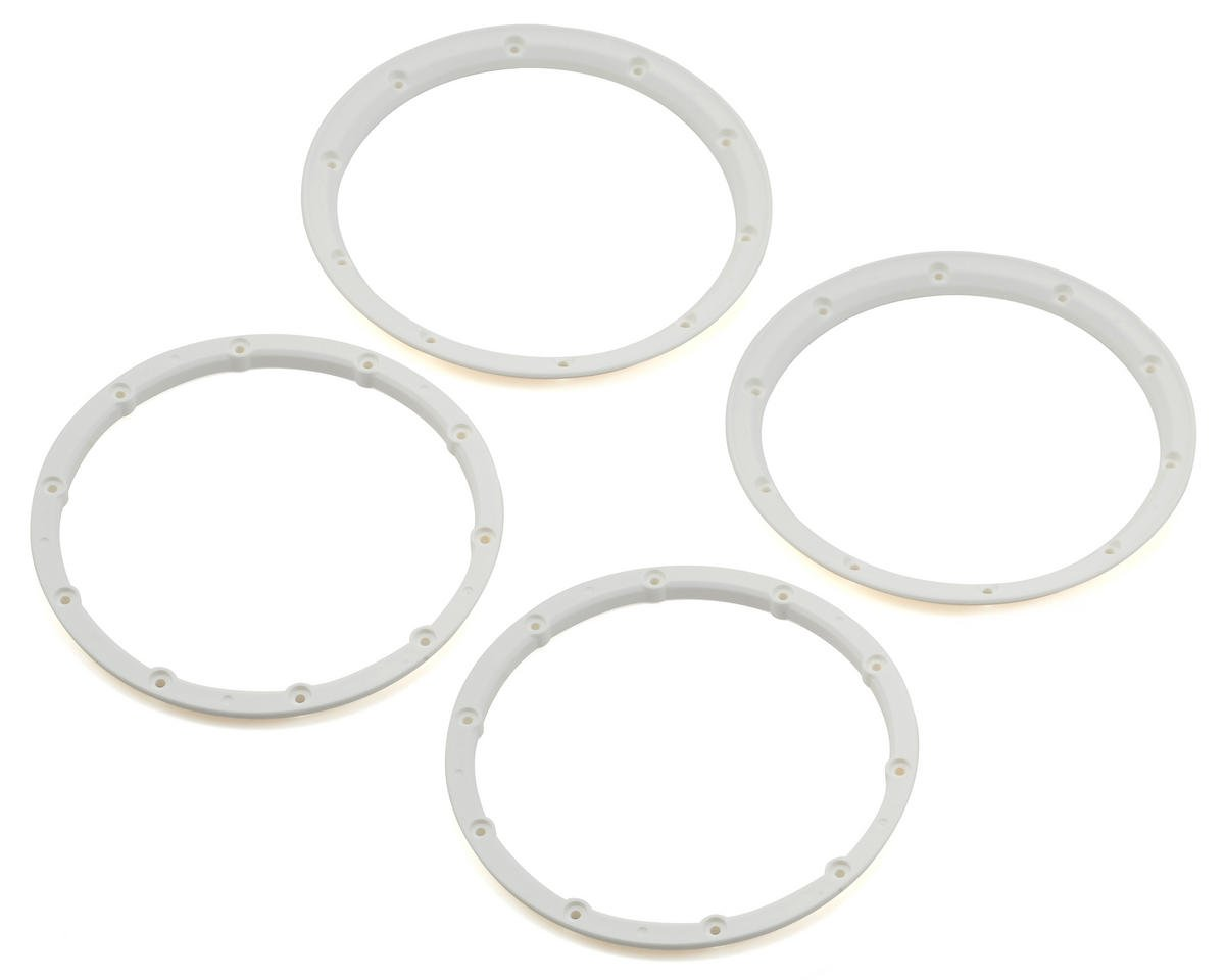 Losi Beadlock Ring Set (White) (2)