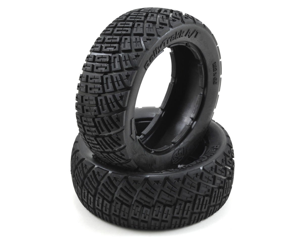 Losi Rally Trekk Tire Set (Firm)