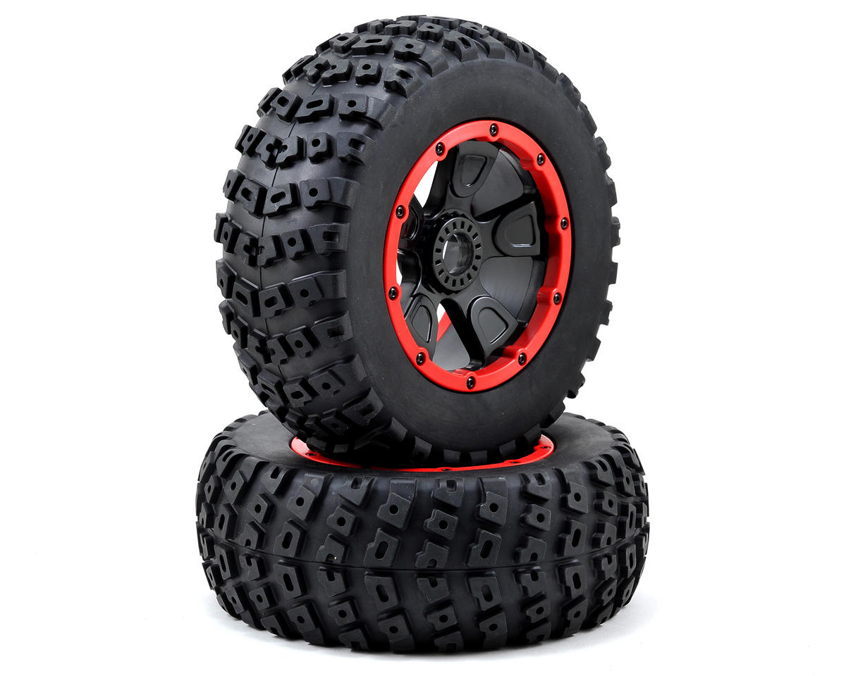 Image 1 for Losi Desert Buggy XL Left & Right Pre-Mounted Tire Set (2)
