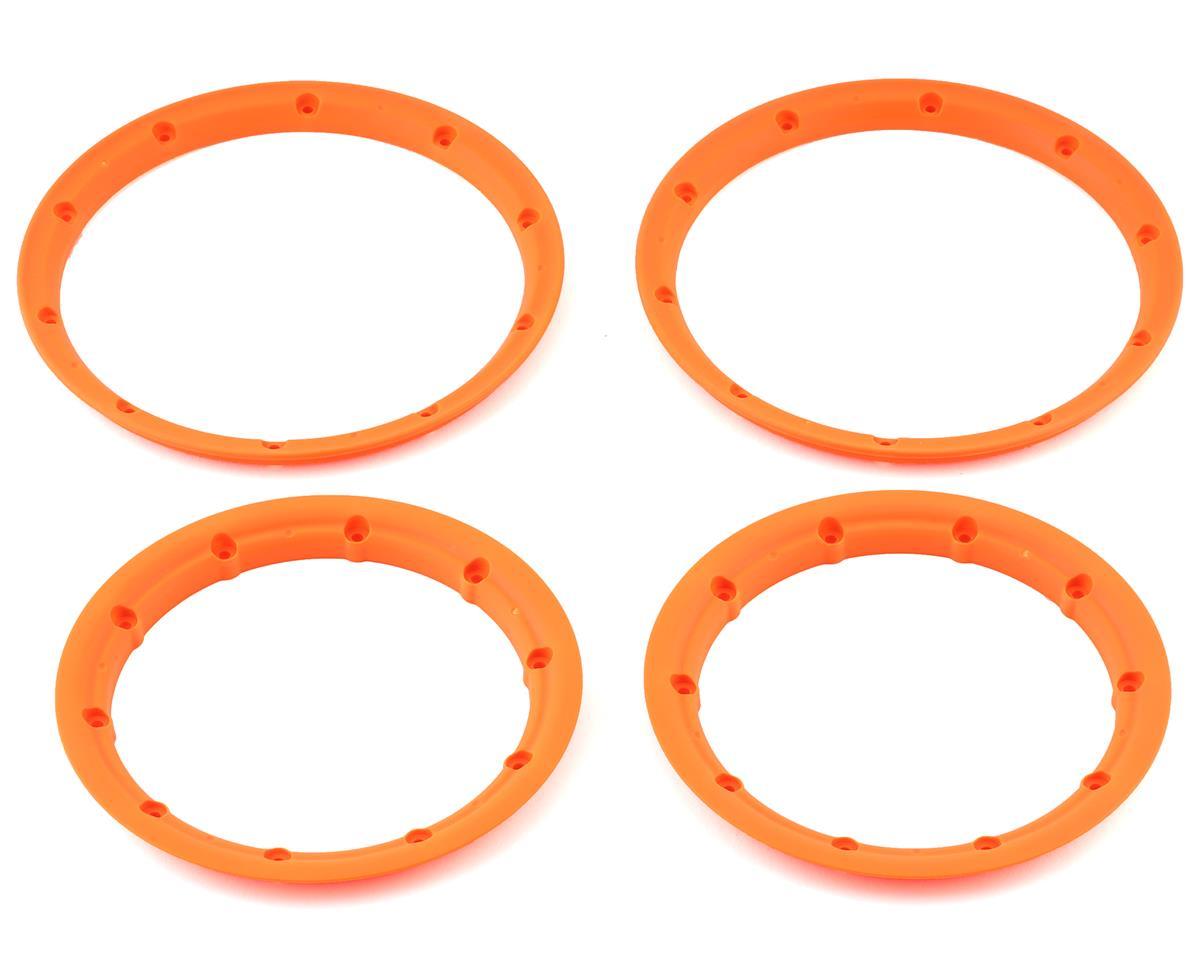 Losi 5IVE-T Inner & Outer Beadlock Set (Orange) (2)