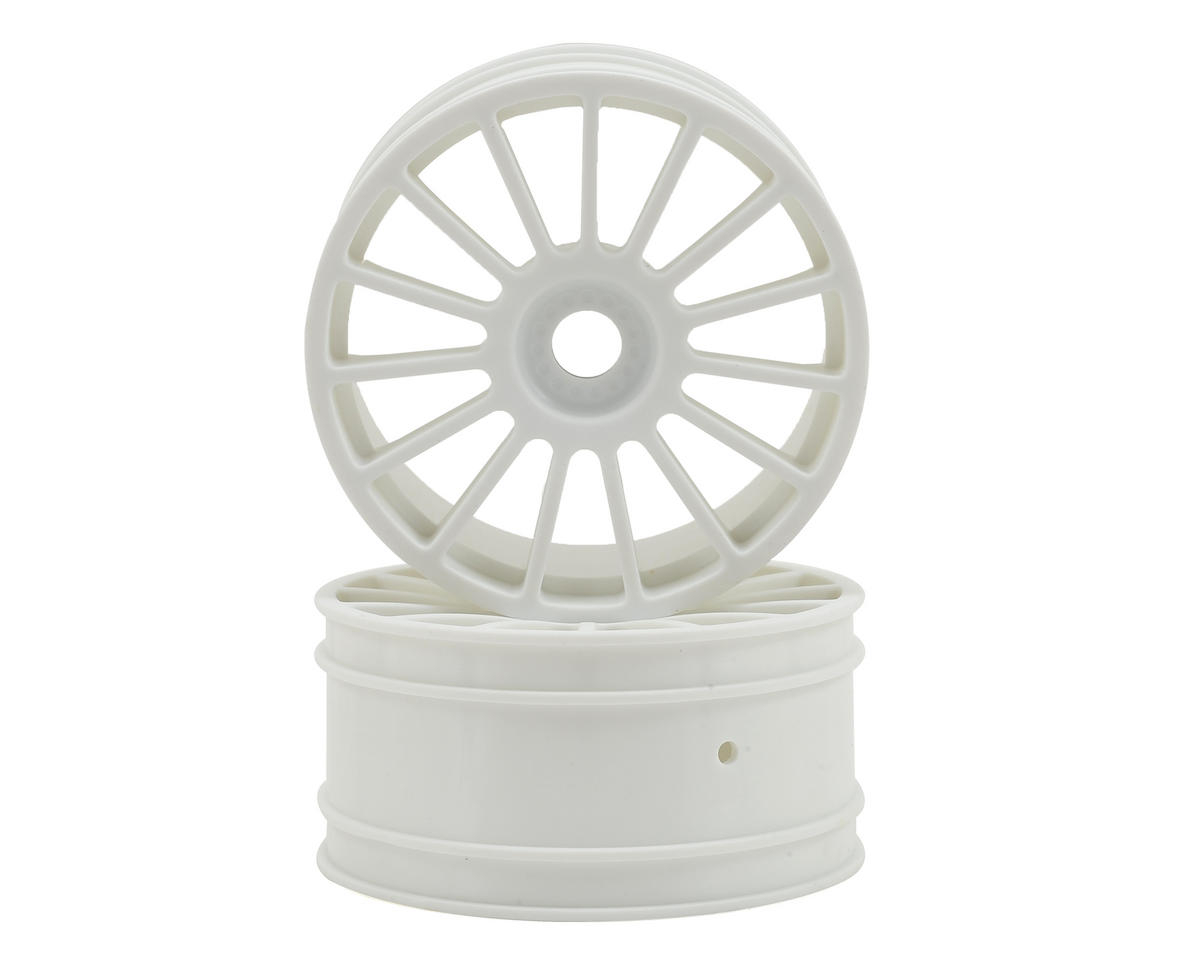 Losi Audi R8 LMS Wheel (White) (2)