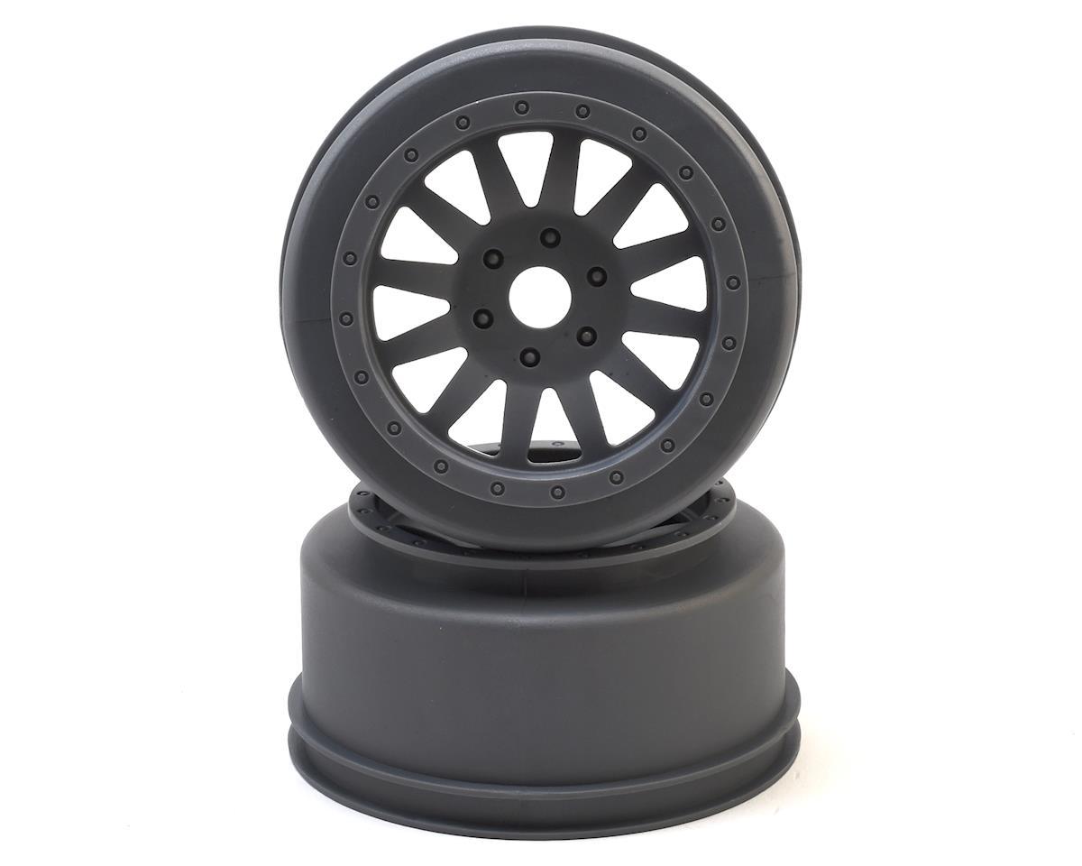 Losi Super Baja Rey Wheels (Silver) (2)