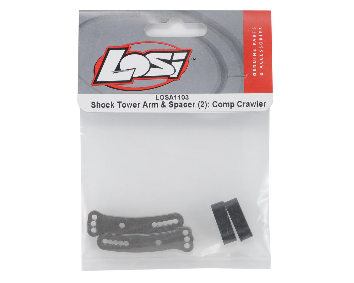Losi Shock Tower Arm w/Spacer (2)