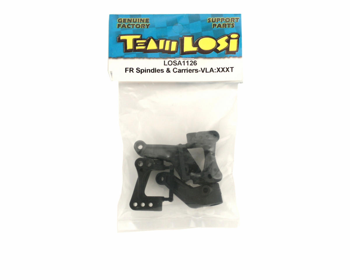 Losi Front Spindles & Carriers, VLA (XXX-T)