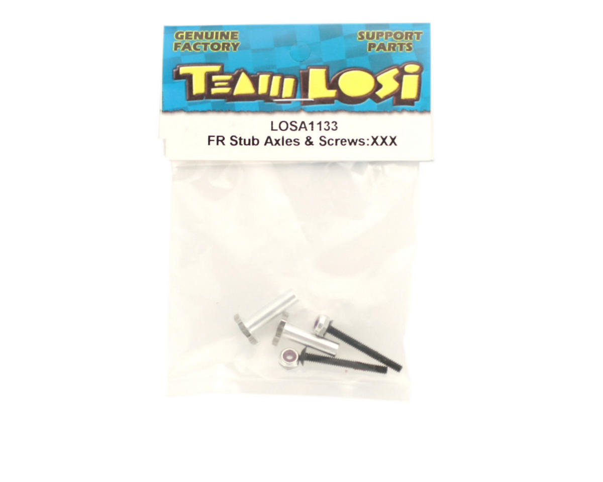 Losi Front Stub Axles & Screws (XXX)