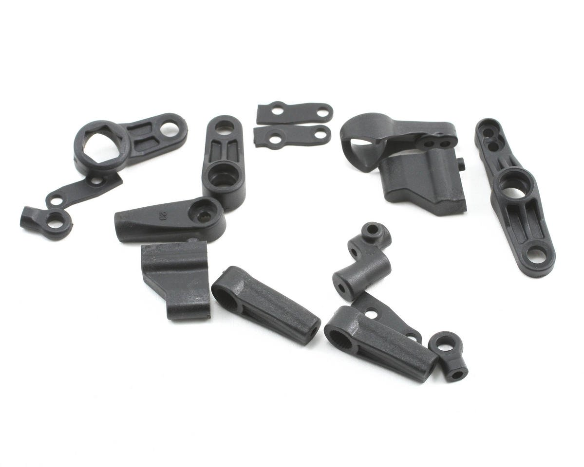 Losi Steering, Servo Saver & Mounts: JRX-S