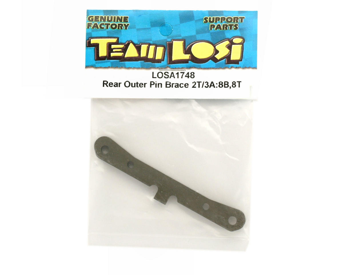 Losi 2T/3A Rear Outer Hinge Pin Brace