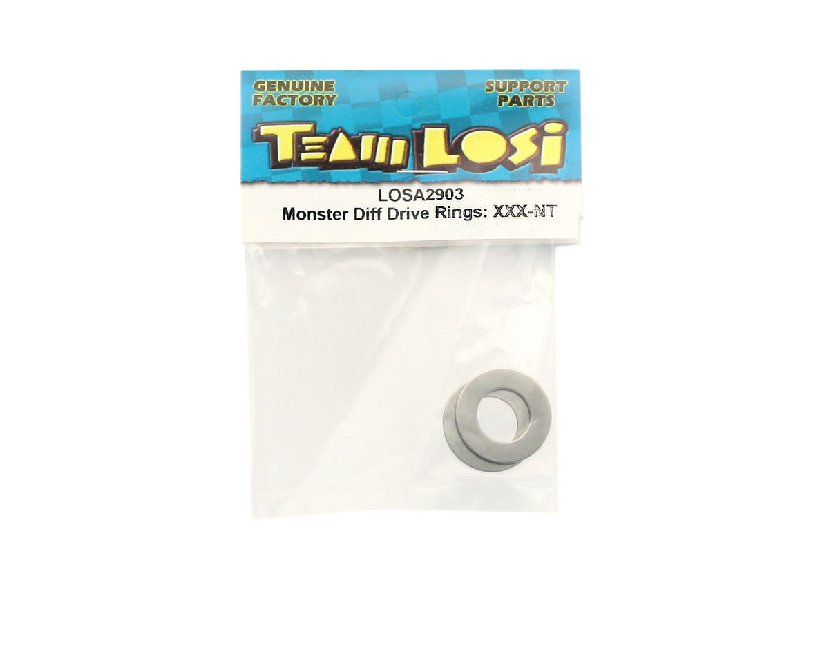 Losi Monster Differential Drive Rings (XXX-NT)