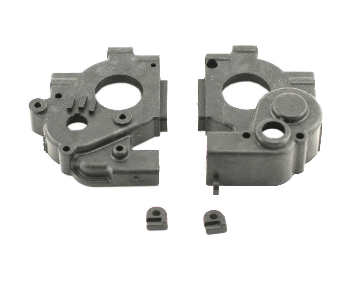Losi Transmission Case Set, Brake Clips (XXX-NT)