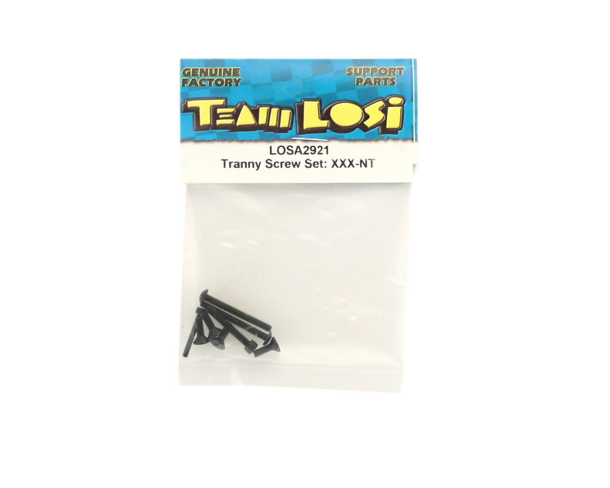 Losi Transmission Screw Set (XXX-NT)