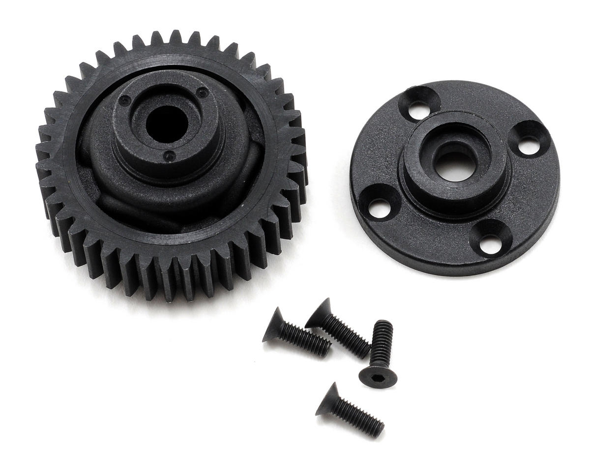 Losi 40T Differential Gear Housing & End Cap