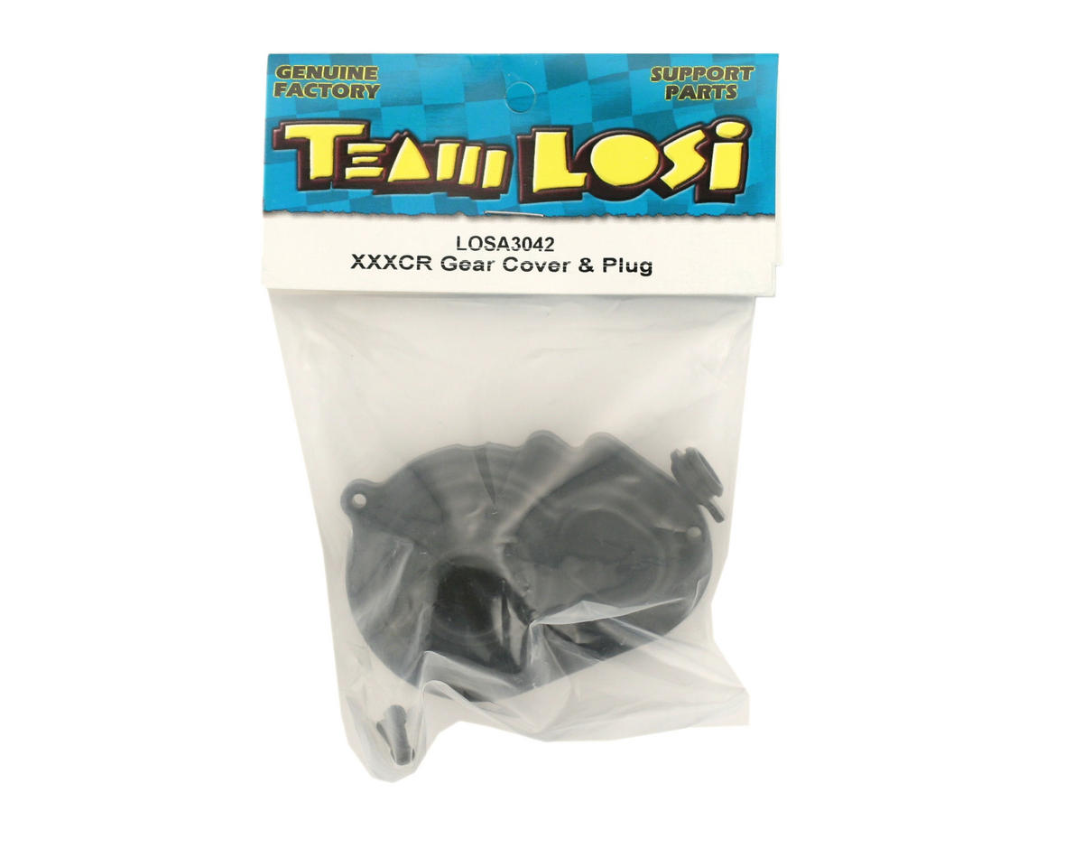Losi Gear Cover and Plug (XXX-CR)
