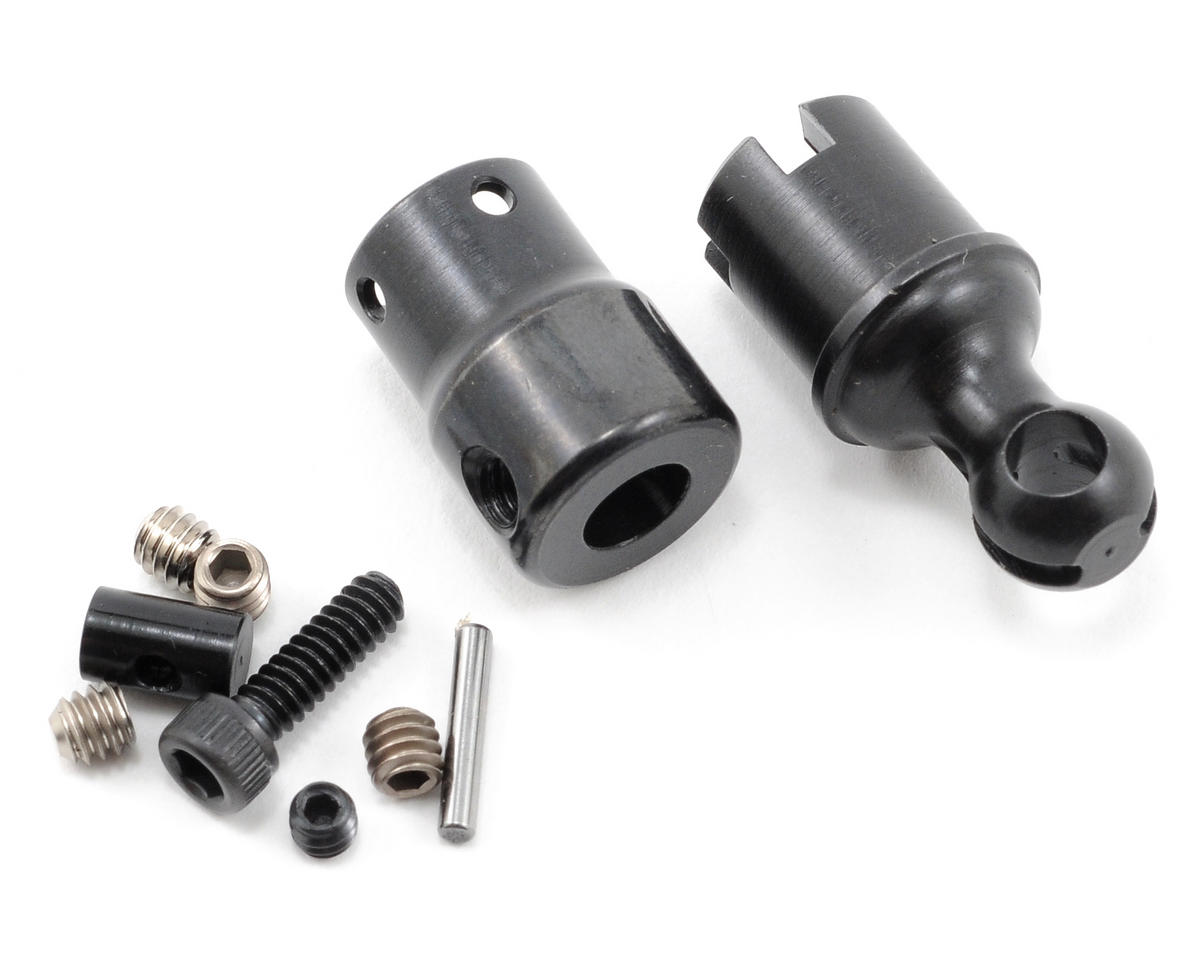 Center Driveshaft Yoke, Cup & Hardware (1) by Losi