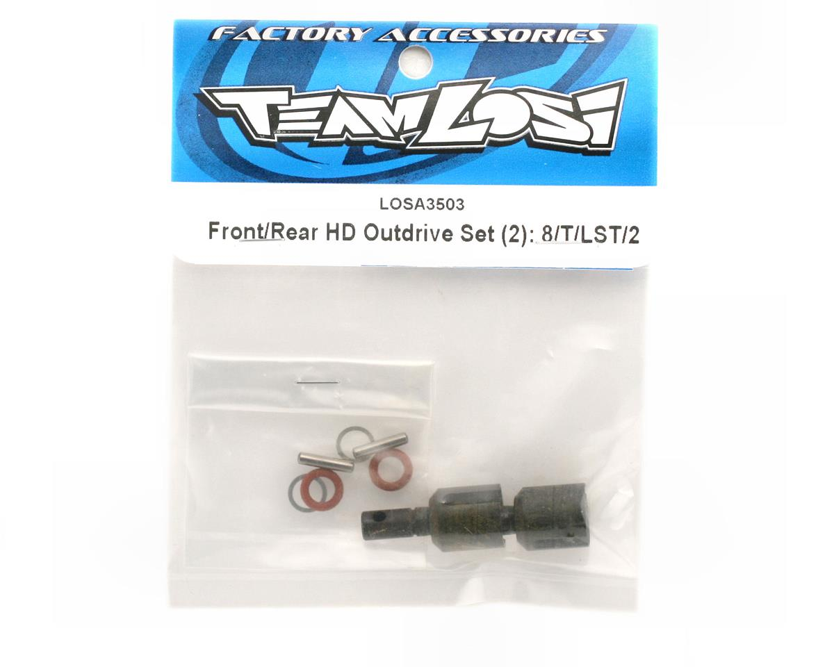 Front/Rear H.D. Differential Outdrive Cups & Pins by Losi