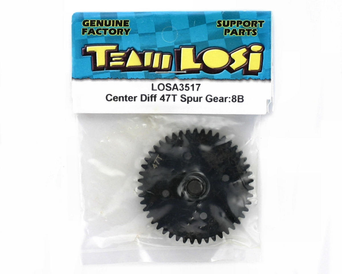 Losi 47T Center Differential Spur Gear