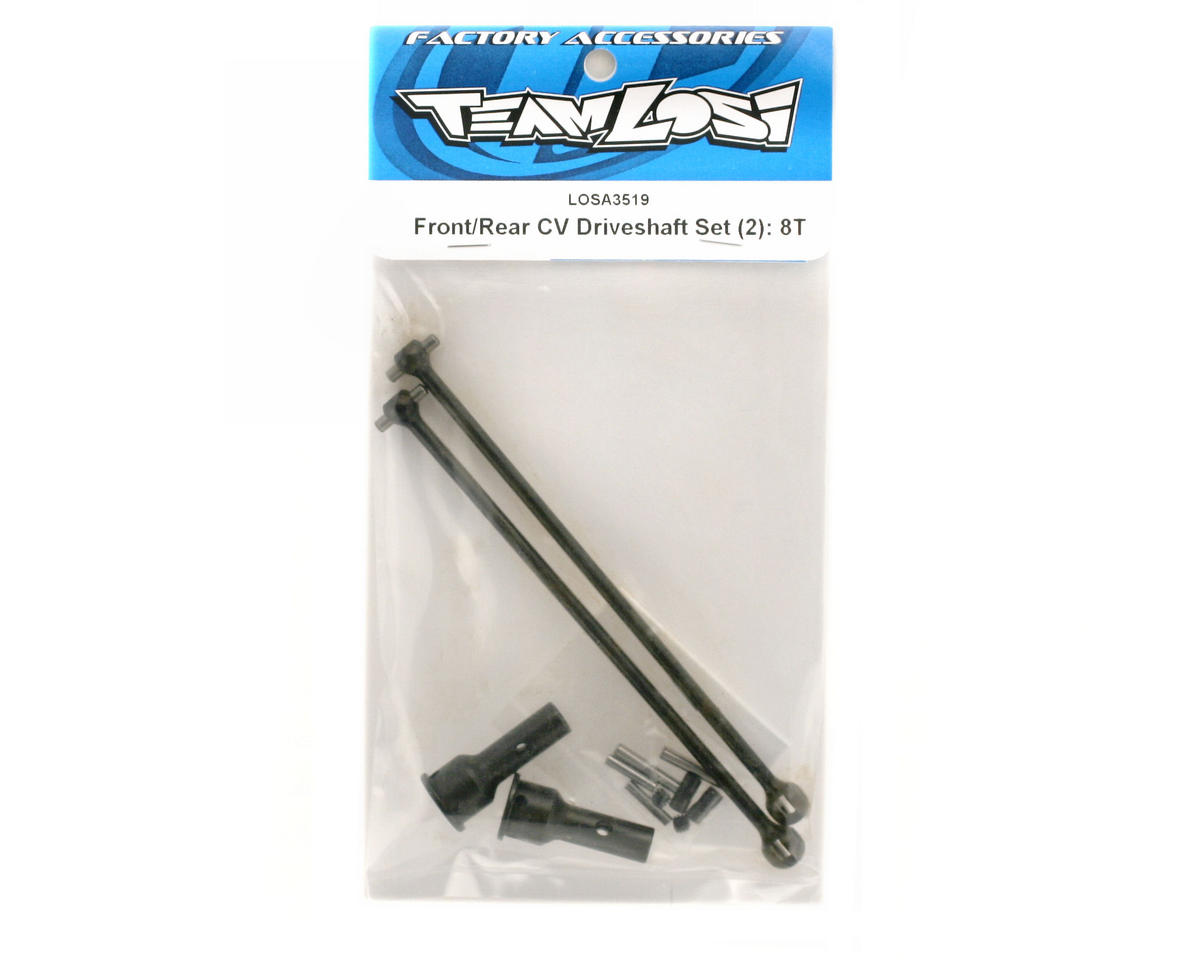 Losi Front/Rear Driveshaft Set (2): 8T